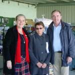 Mayor Danielle Mulholland, Show President Margaret Martin, Kevin Hogan MP Page